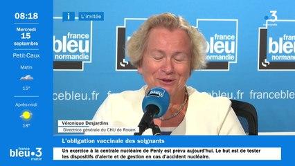 """CHU de Rouen : """"Seuls 44 salariés ont refusé la vaccination"""", annonce sa directrice générale Véronique Desjardins"""