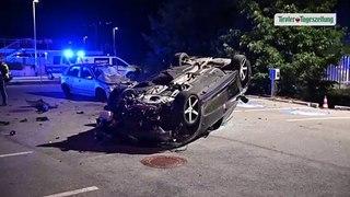 Betrunkener Lenker durchbrach in Innsbruck Zaun und