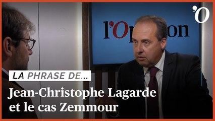 Jean-Christophe Lagarde (UDI): «Zemmour n'est qu'une bulle médiatique»