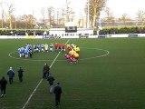 DIEPPE - FC MANTOIS entrée des joueurs