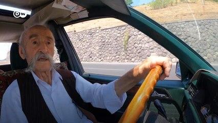 Erivan'ın en yaşlı taksi şoförü ile kentte bir tur