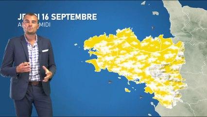 Bulletin météo pour le jeudi 16 septembre 2021