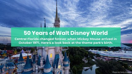 50 Years of Walt Disney World
