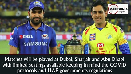 IPL 2021: Limited number of spectators to be allowed as league resumes in UAE
