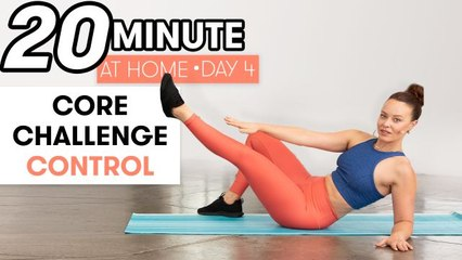 20-Minute Core Control Workout - Challenge Day 4