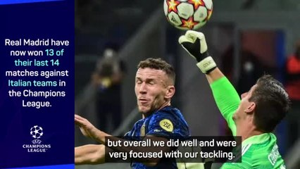 Ancelotti and Inzaghi praise Courtois as Real beat Inter