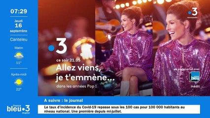 16/09/2021 - Le 6/9 de France Bleu Normandie en vidéo