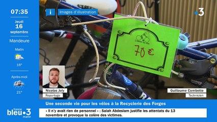 16/09/2021 - Le 6/9 de France Bleu Belfort Montbéliard en vidéo