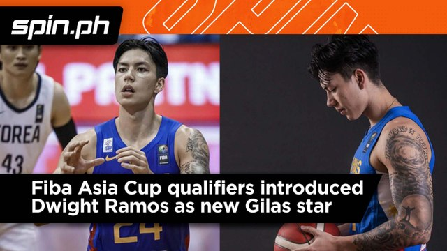 Fiba Asia Cup qualifiers introduced Dwight Ramos as new Gilas star