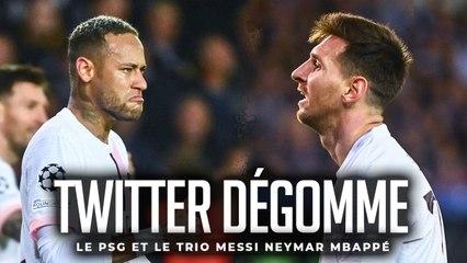CLUB BRUGES - PSG : TWITTER FRACASSE LE PSG ET LE TRIO MESSI, NEYMAR, MBAPPÉ !