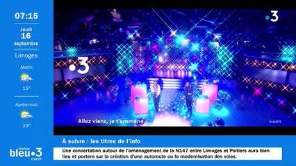 16/09/2021 - Le 6/9 de France Bleu Limousin en vidéo