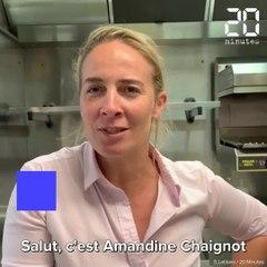 La recette du coeur de poireau d'Amandine Chaignot