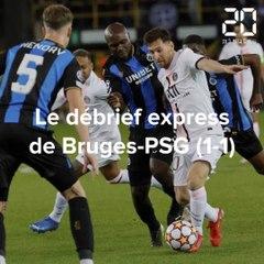 Le débrief de Bruges-PSG