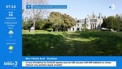 16/09/2021 - Le 6/9 de France Bleu Breizh Izel en vidéo