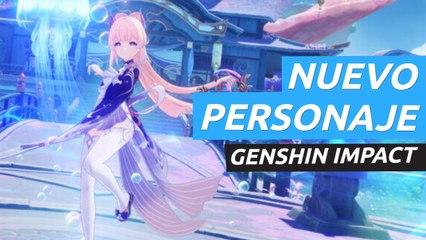 Genshin Impact - Tráiler de Sangonomiya Kokomi