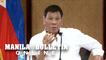Duterte admits corruption in gov't, but none in his Cabinet