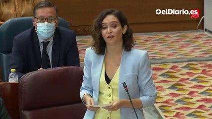 "Ayuso acusa a Mónica García de ser ""la izquierda caviar hipócrita que se va a Ana Rosa vestida de pepera con tirabuzones"""