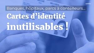 Carte d'identité inutilisable : d'où vient le problème ?