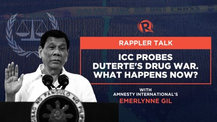 Rappler Talk: ICC probes Duterte's drug war. What happens now_