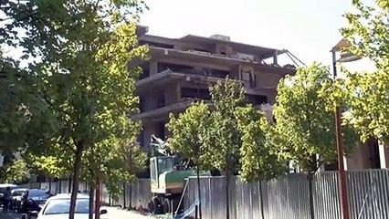 Καρπενήσι: Κατεδαφίστηκε ένα μέρος από το ξενοδοχείο-γιαπί. Διαμορφώνεται για αξιοποίηση το υπόλοιπο