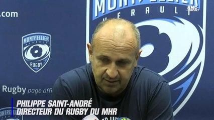 Montpellier : Saint-André explique le recrutement d'Alexandre Ruiz, ancien arbitre devenu entraîneur