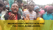 Migori residents protest increased fuel prices, blame leaders