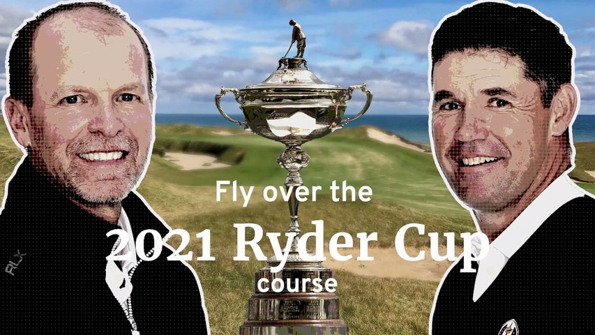 Ryder Cup 2021: Fly over Whistling Straits