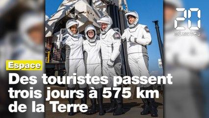 SpaceX envoie des touristes en orbite autour de la Terre