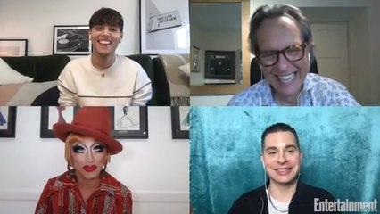 Max Harwood, Richard E. Grant, and Bianca Del Rio Talk 'Everybody's Talking About Jamie'