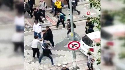 Sultangazi'de öğrenci kavgası