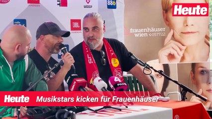 Band Fußball Cup: Musik-Stars kicken für Frauenhäuser