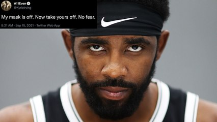 Kyrie Irving Responds After Social Media Erupts Over Him Seemingly Coming Out As An Anti-Masker