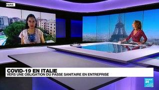 Covid-19 en Italie : vers une obligation du passe sanitaire en entreprise, secteur public comme privé