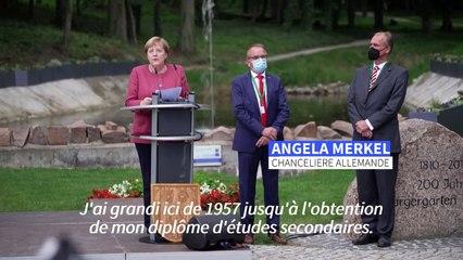 Quand Angela Merkel retourne dans la ville de son enfance
