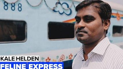 Gered aan boord van een trein: De snelste operatiekamer van India