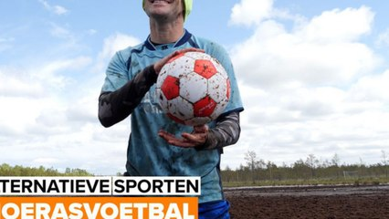 Flinke beenspieren vereist: Dit is moerasvoetbal