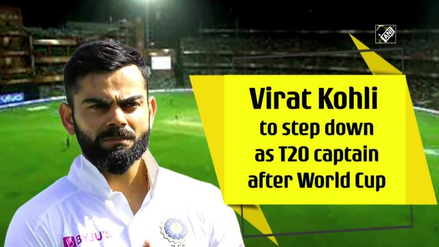 Virat Kohli to step down as T20 captain after World Cup