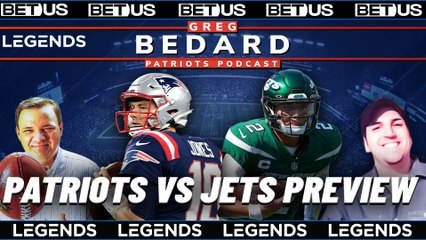 Injuries, Jets and is McDaniels too conservative? | Greg Bedard Patriots Podcast