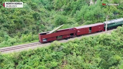 Kuzey Kore'den bir ilk: Ordu, tren vagonundan füze fırlattı