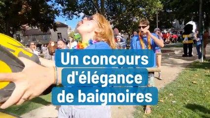 Des baignoires parées pour un concours d'élégance à Troyes