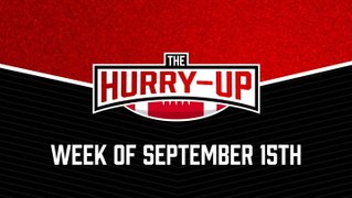 The Hurry-Up: The Kansas City Chiefs Rocky Start, Rookie QBs Going 0-3, and the Disappointing Teams of Week 1