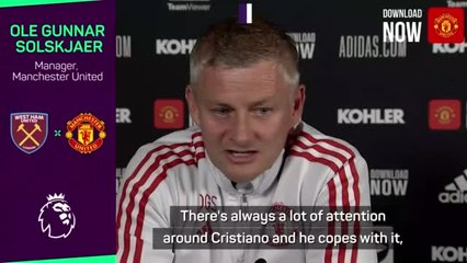 Solskjaer welcomes normality after Ronaldo excitement