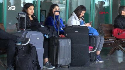 Yurtlara yerleşemeyen öğrenciler zor durumda