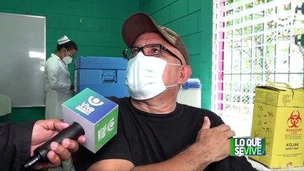 Managua: continúa aplicación voluntaria de la vacuna contra la Covid-19