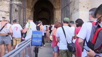 """Vorbild für Europa? """"Grüner Pass"""" wird in Italien für alle Beschäftigten zur Pflicht"""