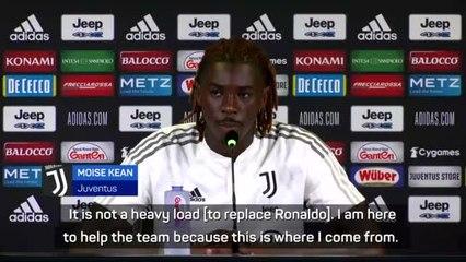 Kean has no concerns about replacing Ronaldo at Juventus