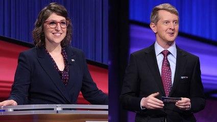 Mayim Bialik and Ken Jennings Hosting 'Jeopardy' Through Remainder of 2021 | THR News