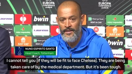 Nuno laments further injuries in Tottenham's Conference League draw