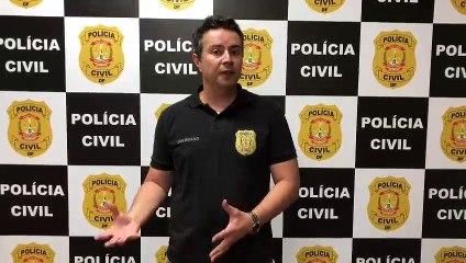 Delegado Douglas Fernandes explica operação que fechou casa de de prostituição no Sudoeste