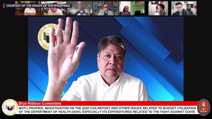 Gordon gets emotional as senators express support amid pandemic probe